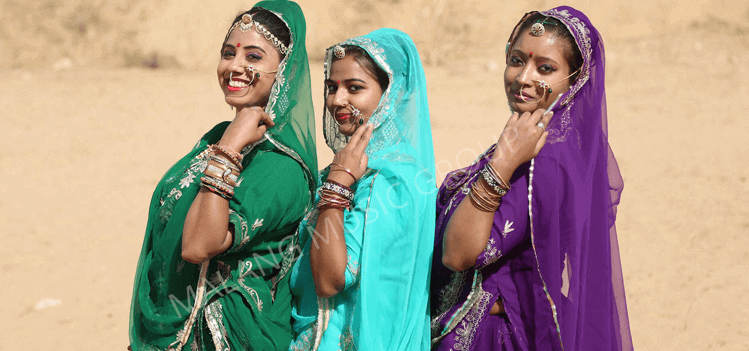 Rajasthani Folk Dance Artists